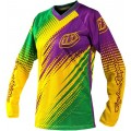 Maillot TROY LEE DESIGNS (Femme) - GP AIR Green / Purple 2012