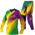 Tenue complète TROY LEE DESIGNS (Femme) - GP AIR Green / Purple 2012