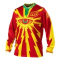 Maillot TROY LEE DESIGNS - GP Air CYCLOPS Red / Yellow 2013