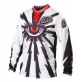 Maillot TROY LEE DESIGNS - GP Air CYCLOPS White / Black 2013