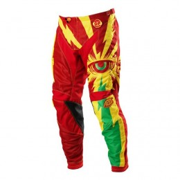 Pantalon TROY LEE DESIGNS - GP Air CYCLOPS Red / Yellow 2013