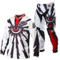 Tenue complète TROY LEE DESIGNS - GP Air CYCLOPS White / Black 2013