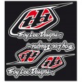 Planche de stickers TROY LEE DESIGNS - FACTORY