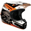 Casque FOX RACING V1 COSTA Orange 2013