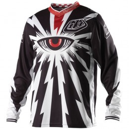 Maillot TROY LEE DESIGNS - GP CYCLOPS Black 2013