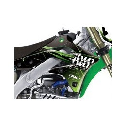 Kit déco complet FACTORY EFFEX TWO TWO MOTORSPORTS - KXF 250 06/08