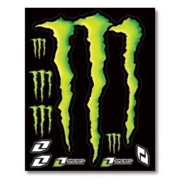 Planche de stickers ONE INDUSTRIES - MONSTER Large