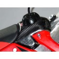 Couvre réservoir LIGHT SPEED carbone - CRF 450 05/08