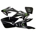 Kit déco MONSTER noir - CRF 70