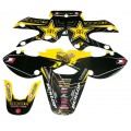 Kit déco ROCKSTAR Black - KLX 110