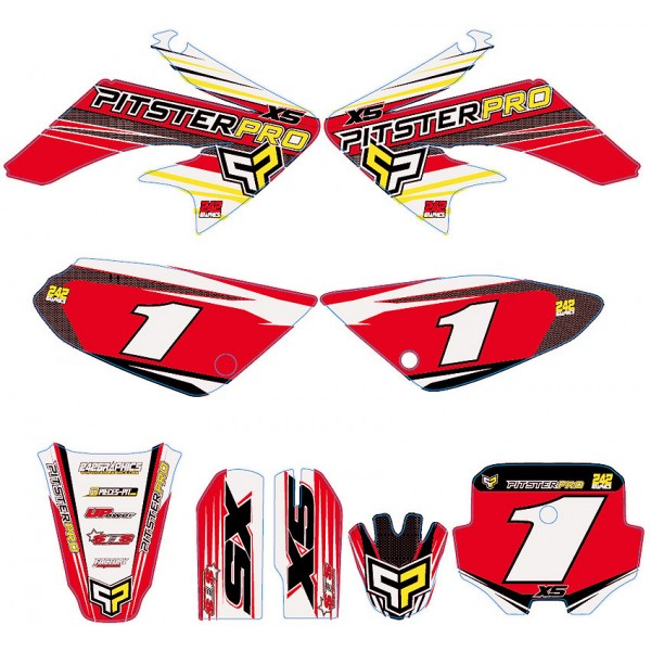 honda crf 450 graphics bull motorcycle review and galleries
