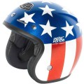Casque TROY LEE DESIGNS - Open Face - FONDA Red / Blue 2013