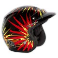 Casque TROY LEE DESIGNS - Open Face - PISTON Black / Yellow 2013