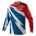 Maillot TROY LEE DESIGNS - GP Air CYCLOPS Bleu / Blanc 2014