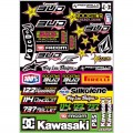 Planche de stickers BUD RACING - Team 2013