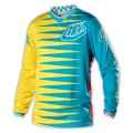Maillot TROY LEE DESIGNS - GP Joker Bleu / Jaune 2014