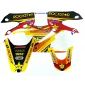 Kit déco ROCKSTAR Red - KLX 110