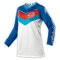 Maillot TROY LEE DESIGNS (Femme) - GP AIR Airway Blue / White 2014