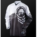 Maillot MSR - METAL MULISHA Optic Noir / Blanc 2014